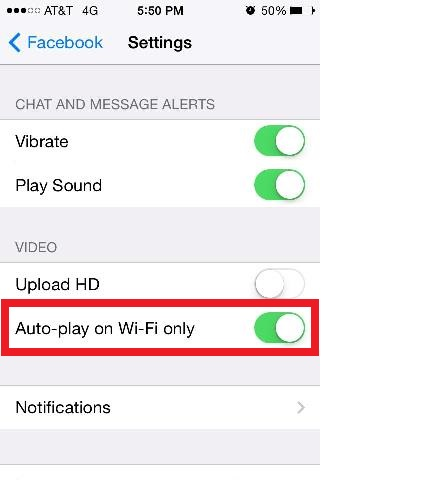 auto play on wi-fi iphone